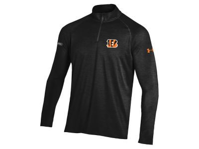 Cincinnati Bengals Under Armour NFL Men's Twist Tech Quarter Zip Pullover