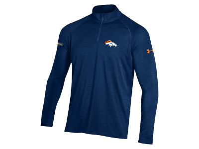 Denver Broncos Under Armour NFL Men's Twist Tech Quarter Zip Pullover