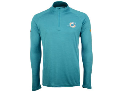 Miami Dolphins Under Armour NFL Men's Twist Tech Quarter Zip Pullover