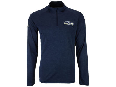 Seattle Seahawks Under Armour NFL Men's Twist Tech Quarter Zip Pullover
