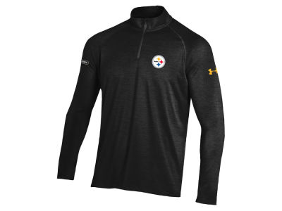 Pittsburgh Steelers Under Armour NFL Men's Twist Tech Quarter Zip Pullover
