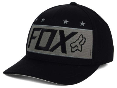 Fox Racing Red White and True Flexfit Hat