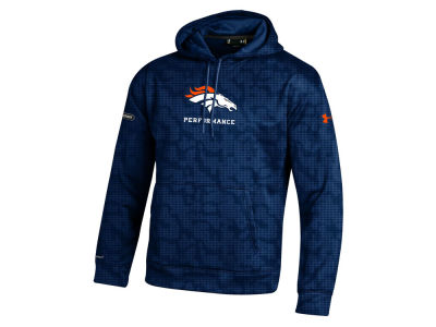 Denver Broncos NFL Men's Armour Fleece Novelty Hoodie