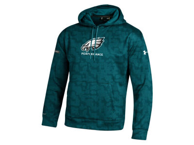 Philadelphia Eagles NFL Men's Armour Fleece Novelty Hoodie