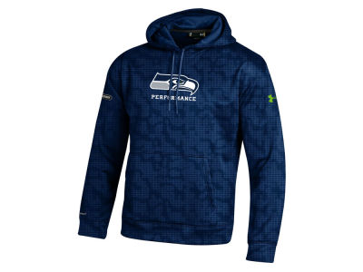 Seattle Seahawks NFL Men's Armour Fleece Novelty Hoodie