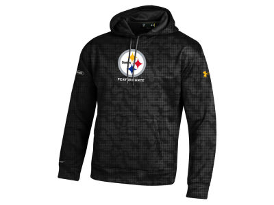 Pittsburgh Steelers NFL Men's Armour Fleece Novelty Hoodie