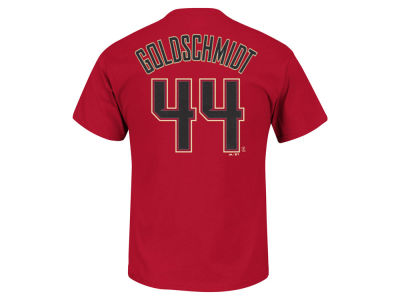 Arizona Diamondbacks Paul Goldschmidt Majestic MLB Men's Official Player T-Shirt