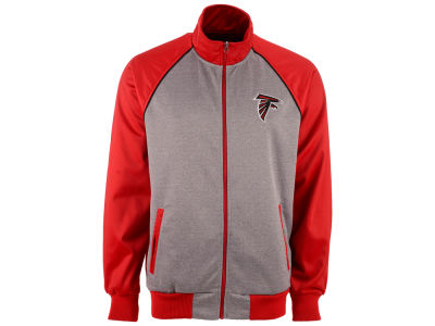 Atlanta Falcons GIII NFL Men's Throwback Track Jacket