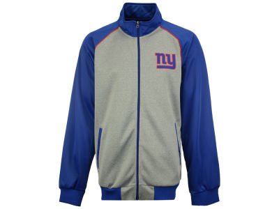 New York Giants GIII NFL Men's Throwback Track Jacket