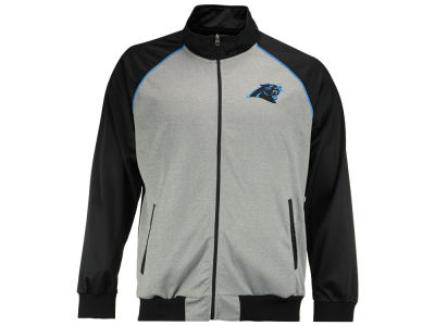 Carolina Panthers GIII NFL Men's Throwback Track Jacket