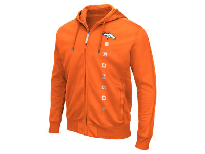 Denver Broncos GIII NFL Men's Snap Full Zip Hoodie