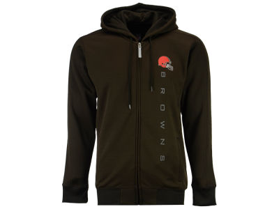 Cleveland Browns GIII NFL Men's Snap Full Zip Hoodie