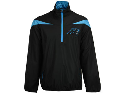 Carolina Panthers GIII NFL Men's Tailback Half Zip Pullover