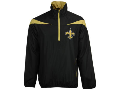 New Orleans Saints GIII NFL Men's Tailback Half Zip Pullover