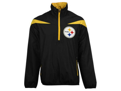 Pittsburgh Steelers GIII NFL Men's Tailback Half Zip Pullover