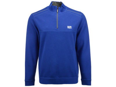 Indianapolis Colts Tommy Bahama NFL Men's Tommy Bahama Flipside Pro Half Zip Pullover Sweatshirt