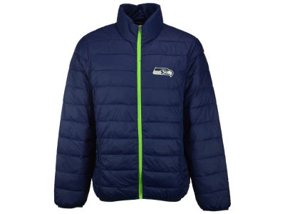 Seattle Seahawks GIII NFL Men's Skybox Packable Quilted Jacket