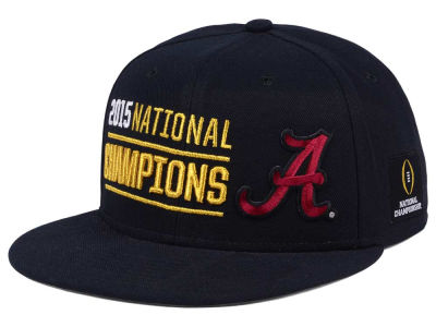 Alabama Crimson Tide Nike NCAA 2016 National Championship Game Locker Room Player Snapback Cap