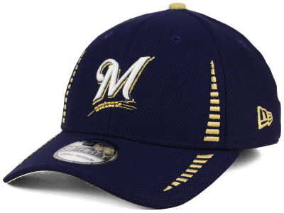 Milwaukee Brewers New Era MLB Hardball 39THIRTY Cap