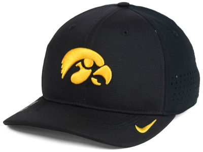 Iowa Hawkeyes NCAA Youth Sideline Swoosh Flex Cap