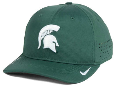 Michigan State Spartans NCAA Youth Sideline Swoosh Flex Cap