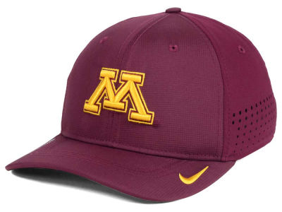 Minnesota Golden Gophers NCAA Youth Sideline Swoosh Flex Cap