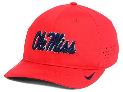 Ole Miss Rebels NCAA Youth Sideline Swoosh Flex Cap