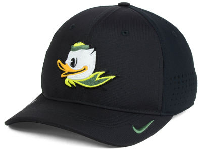 Oregon Ducks NCAA Youth Sideline Swoosh Flex Cap