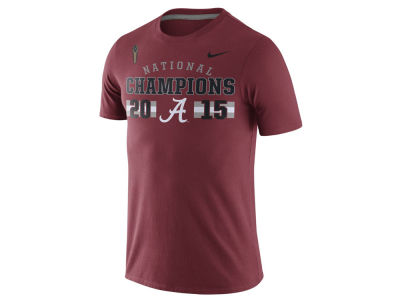 Alabama Crimson Tide Nike NCAA Men's National Champion Celebration T-Shirt