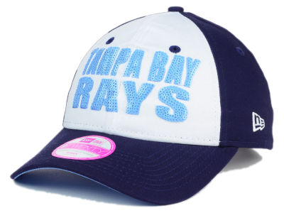 Tampa Bay Rays New Era MLB Women's Glimmer Time 9TWENTY Cap
