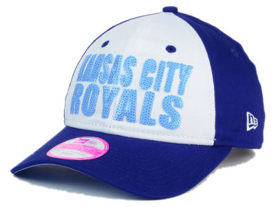 Kansas City Royals New Era MLB Women's Glimmer Time 9TWENTY Cap