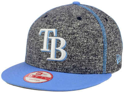 Tampa Bay Rays New Era MLB Panel Stitcher 9FIFTY Snapback Cap