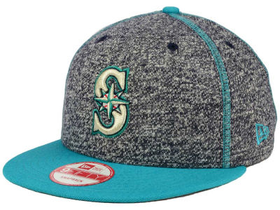 Seattle Mariners New Era MLB Panel Stitcher 9FIFTY Snapback Cap