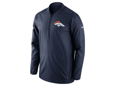 Denver Broncos Nike NFL Men's Lockdown Half Zip Pullover