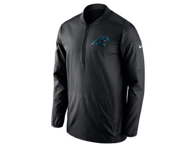 Carolina Panthers Nike NFL Men's Lockdown Half Zip Pullover