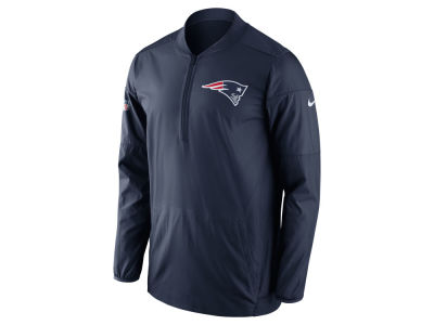 New England Patriots Nike NFL Men's Lockdown Half Zip Pullover