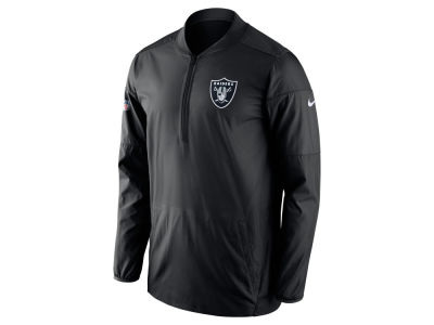 Oakland Raiders Nike NFL Men's Lockdown Half Zip Pullover