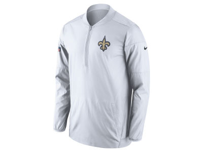 New Orleans Saints Nike NFL Men's Lockdown Half Zip Pullover