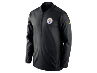 Pittsburgh Steelers Nike NFL Men's Lockdown Half Zip Pullover