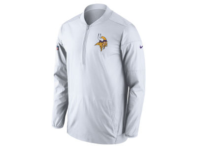 Minnesota Vikings Nike NFL Men's Lockdown Half Zip Pullover