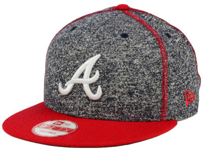 Atlanta Braves New Era MLB Panel Stitcher 9FIFTY Snapback Cap