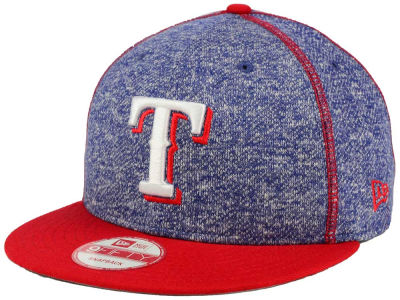 Texas Rangers New Era MLB Panel Stitcher 9FIFTY Snapback Cap