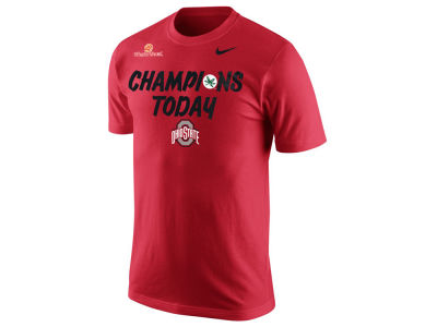 Ohio State Buckeyes Nike NCAA Men's Champions Today Fiesta Bowl Celebration T-Shirt