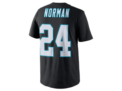 Carolina Panthers Josh Norman Nike NFL Pride Name and Number T-Shirt