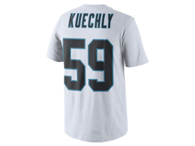 4937a6173 Carolina Panthers Luke Kuechly Nike NFL Men s Pride Name and Number T-Shirt