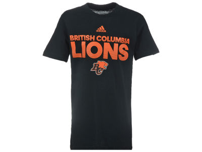 BC Lions CFL Youth Sideline Hustle T-Shirt