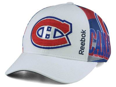 Montreal Canadiens Reebok NHL Sublimated Panel Structured Adjustable Cap