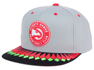 Atlanta Hawks Mitchell and Ness NBA TC Variant Snapback Cap