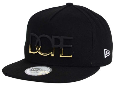 Dope Masked Gold 9FIFTY Snapback Cap