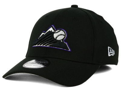 Colorado Rockies New Era MLB Core Classic 39THIRTY Cap